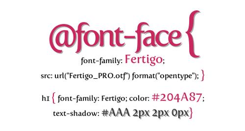 font-face css3 tutorial incrustar fuentes web